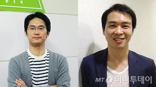 이지훈 레드사하라스튜디오 대표, 서영조 드라이어드 대표(왼쪽부터)