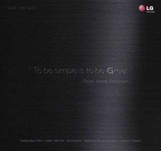 LG G3 초대장. G3는 QHD 디스플레이를 채택한 것으로 알려졌다. / 사진=LG전자