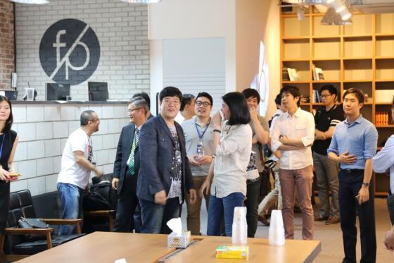 31일 서울 강남 마루180 빌딩에서 열린 퓨처플레이의 공식 론칭 행사장 모습/사진=퓨처플레이 제공