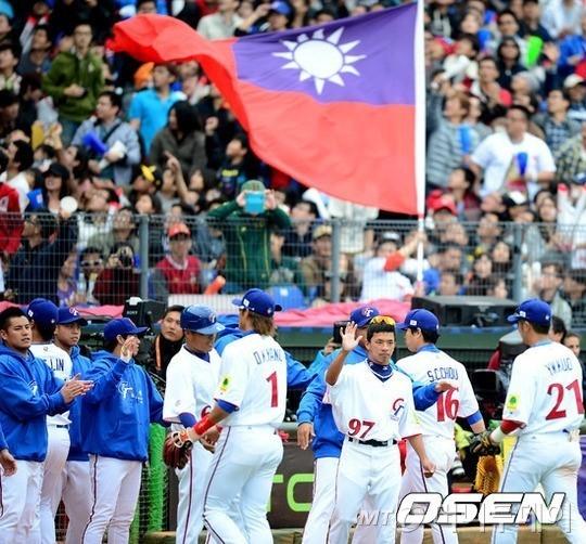 지난 2013년 월드베이스볼 클래식 예선 당시, 대만 대표팀의 모습. /사진=OSEN<br /> <br />