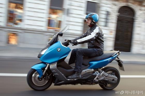 BMW C 600 스포트 모델./사진제공=BMW파이낸셜서비스코리아