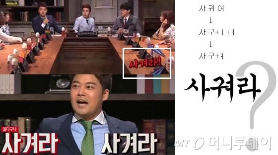 /사진=jTBC 인기 프로그램 '비정상회담' 화면 갈무리(왼쪽).