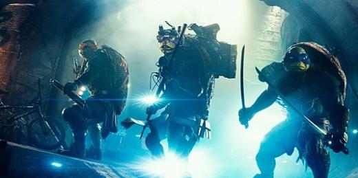 닌자터틀의 한 장면/사진=CJ E&M<br><br>