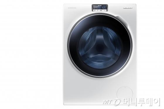 삼성전자 크리스탈 블루 세탁기.