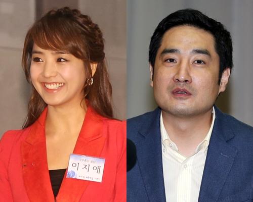 방송인 이지애(좌)와 강용석 변호사/사진=스타뉴스