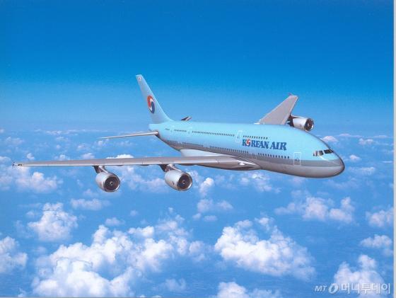 대한항공이 운항 중인 A380 항공기. /사진=대한항공 제공