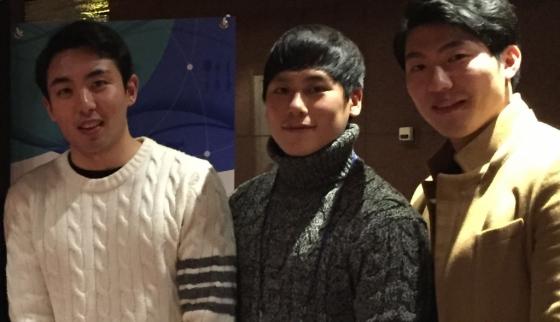(왼쪽부터)태범모 내쉬스 대표,박영호 COO, 박대권 CMO/사진=내쉬스 제공