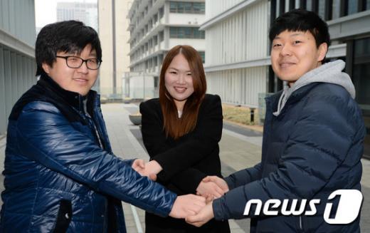 지난 25일 오후 서울 종로구 대한민국역사박물관에서 한중일 대학생들이 간담회를 하고 있다./뉴스1 © News1 신웅수 기자