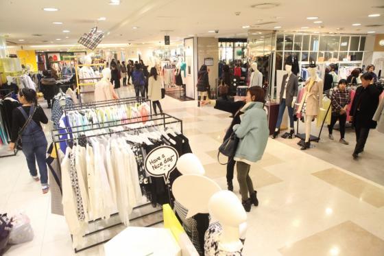 서울시내 한 백화점 매장 전경 / 사진=머니투데이 포토DB
