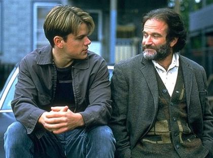영화 '굿 윌 헌팅'의 한 장면/사진=브에나 비스타 인터내셔널 코리아