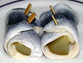 체코의 요리 'zavinac'. @도 같은 이름으로 불립니다. /사진=위키피디아