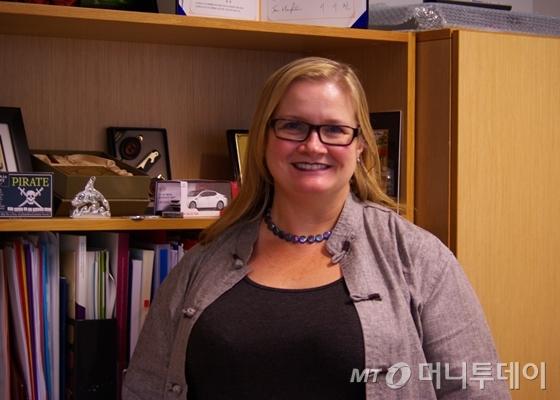 호주의 직업훈련교육(VET)과 국가직무능력표준(NCS)를 총괄하는 교육훈련부(Department of Education and Training)의 멜리사 맥퀸(Melissa McEwen) 국장 / 사진=이동우 기자