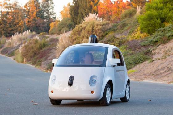 구글의 첫 무인자율주행차/사진=구글