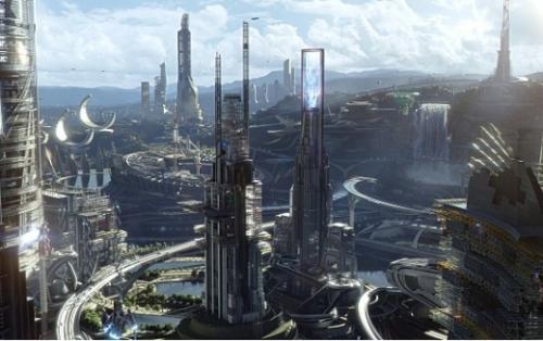 영화 '투모로우랜드'의 한 장면/사진=월트 디즈니 컴퍼니 코리아