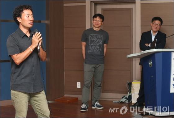 [사진]홍콩 과기대 김성훈-구글 이준영 '재미 그리고 설레임' 토크쇼