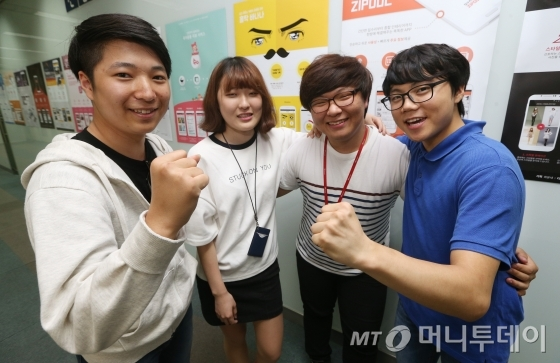 ↑(사진)왼쪽부터 이영민, 김해슬, 노세호, 박정현씨<br /> /사진=이동훈 기자