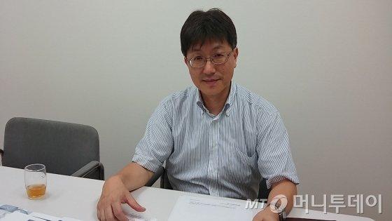 ↑아오야마 대전정공 영업본부장