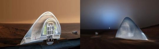 화성 아이스 하우스/사진=NASA