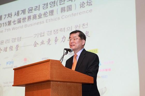 문국현 대표와 마오종췬 팡타이 총경리, '윤리경영' 논한다
