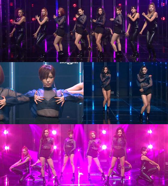 /사진=Mnet '엠카운트다운' 방송화면 캡처
