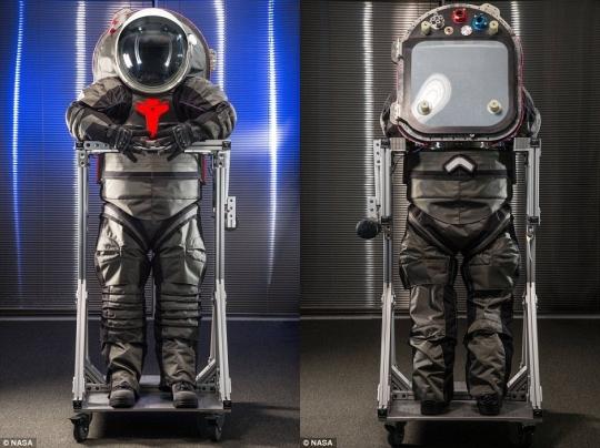 화성 우주복/사진=NASA