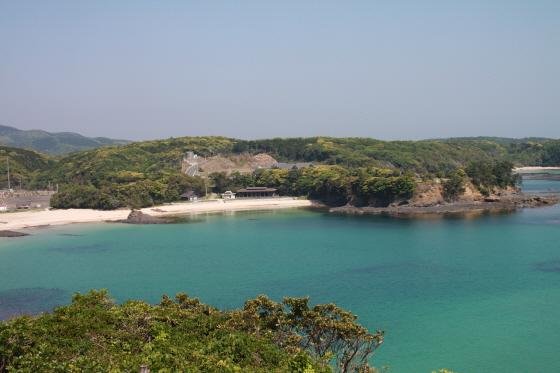 쓰시마 미우다 해수욕장/사진제공=미래고속 코비