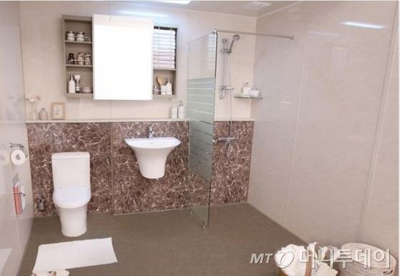 한샘의 UBR 욕실제품/사진제공=한샘