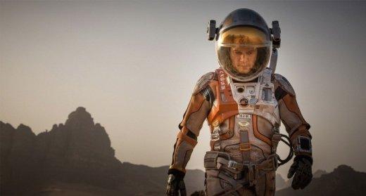 화성표류기를 주제로 한 영화 '마션'의 한 장면/사진=이십세기폭스코리아