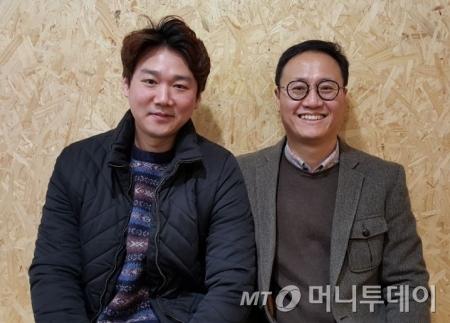 김지호 먼데이 프로젝트 아시아 대표(왼쪽) 권영준 멘토(오른쪽)/사진=허정민 인턴기자