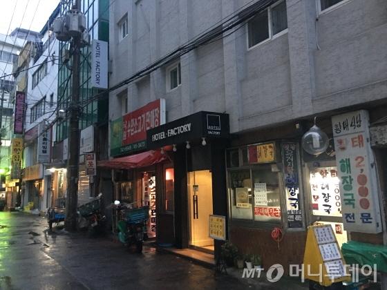 낙원상가와 파고다 공원 사이에 위치해, 주변이 노후화 된 지역이다/사진=이지혜 기자