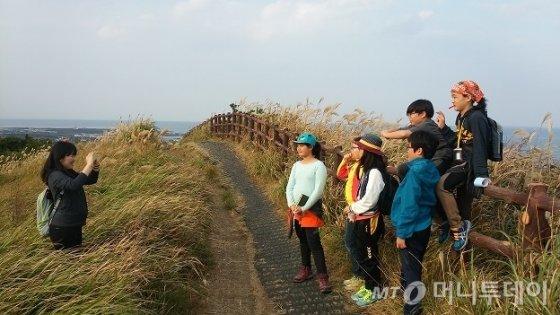 여행을 떠난 삼각산재미난학교 학생들. /제공=삼각산재미난학교