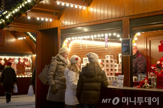 노르웨이 크리스마스마켓/사진제공=노르웨이 관광청