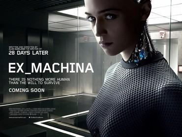 영화 '엑스 마키나'에 나오는 인공지능 로봇 '에이바'/사진=A24필름