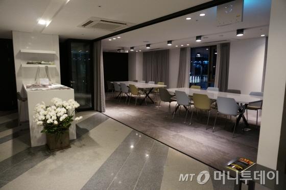 2층 비즈니스센터와 회의 공간/사진=이지혜 기자