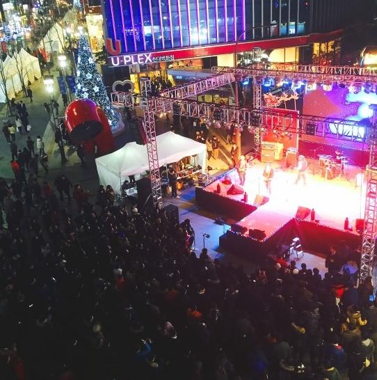 /사진제공='2015 신촌 크리스마스 거리축제' 홈페이지