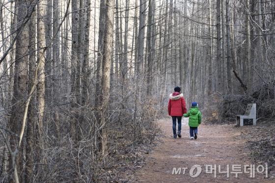 아이와 함께 걷기 좋은 검룡소 가는 길/사진제공=한국관광공사