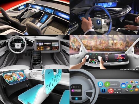 자율주행차 '제5의 스크린戰'…애플이 예사롭지 않다