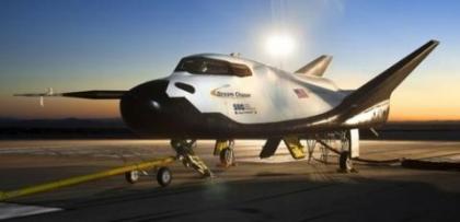 항공기 형태의 우주왕복선 드림체이서/사진=NASA<br>