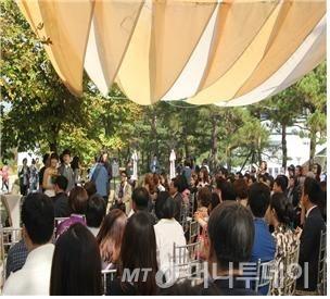 친환경 소풍 결혼식 전경/사진=서울시