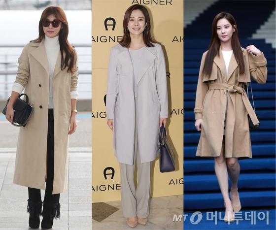 軍 유니폼→패션 아이템, '트렌치 코트'의 화려한 변주