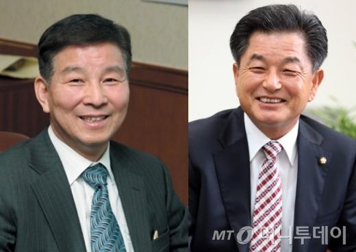박대동 의원(사진 좌측)과 신학용 의원/사진=머니투데이DB