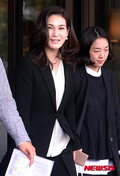 20일 오전 서울 신라호텔에서 열린 컨데나스트 인터내셔널 럭셔리 컨퍼런스에서 기조연설을 마친 이서현 삼성물산 패션부문 사장이 나서고 있다. /사진=뉴시스