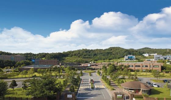 한남대 대덕밸리캠퍼스 전경