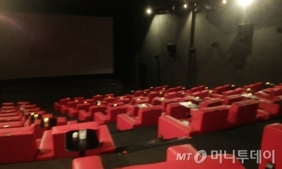 여의도 한 영화관에서는 평일 낮 영화를 상영하지 않고 낮잠을 잘 수 있는 공간을 마련한다./사진=김종효 인턴 기자