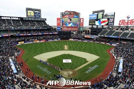 뉴욕 메츠의 홈구장 시티필드 전경./AFPBBNews=뉴스1