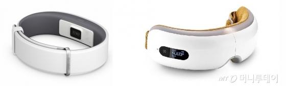 수면관련 상품이 인기를 끌고있는 가운데 최근에는 수면 중 눈 주위를 안마하는 스마트 수면 안대와 사용자의 수면 패턴을 분석하는 스마트 밴드까지 시중에 출시됐다. /사진=머니투데이 DB