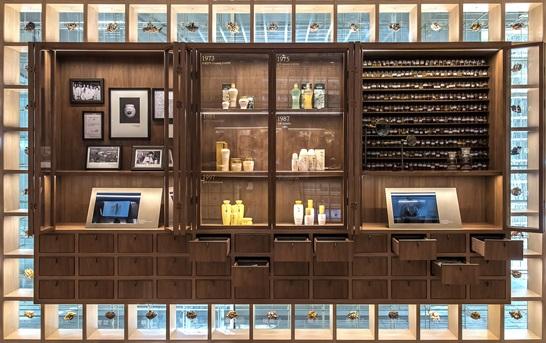 설화수 플래그십스토어 1층 헤리티지룸의 '진세노사이드 존'/사진제공=아모레퍼시픽