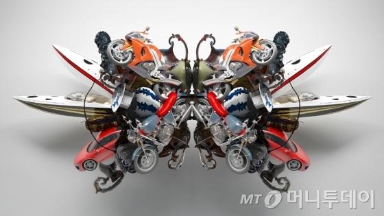 [출근길갤러리] 데칼코마니가 만든 '예상치 못한 의미'