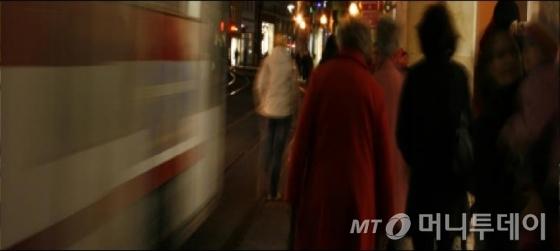 김서량 '멈추지 않는 흐름 인 에르푸르트' (2013), 잉크젯 프린트, 사운드.(부분)