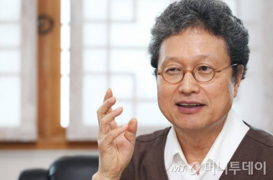 천진기(54) 국립민속박물관장. /사진=이동훈 기자